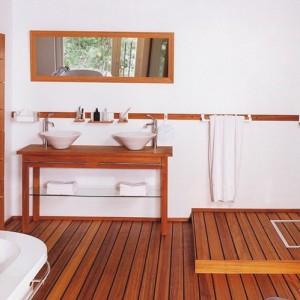 Parquet teck salle de bain gris salle de bain id es de for Entretien parquet teck salle de bain