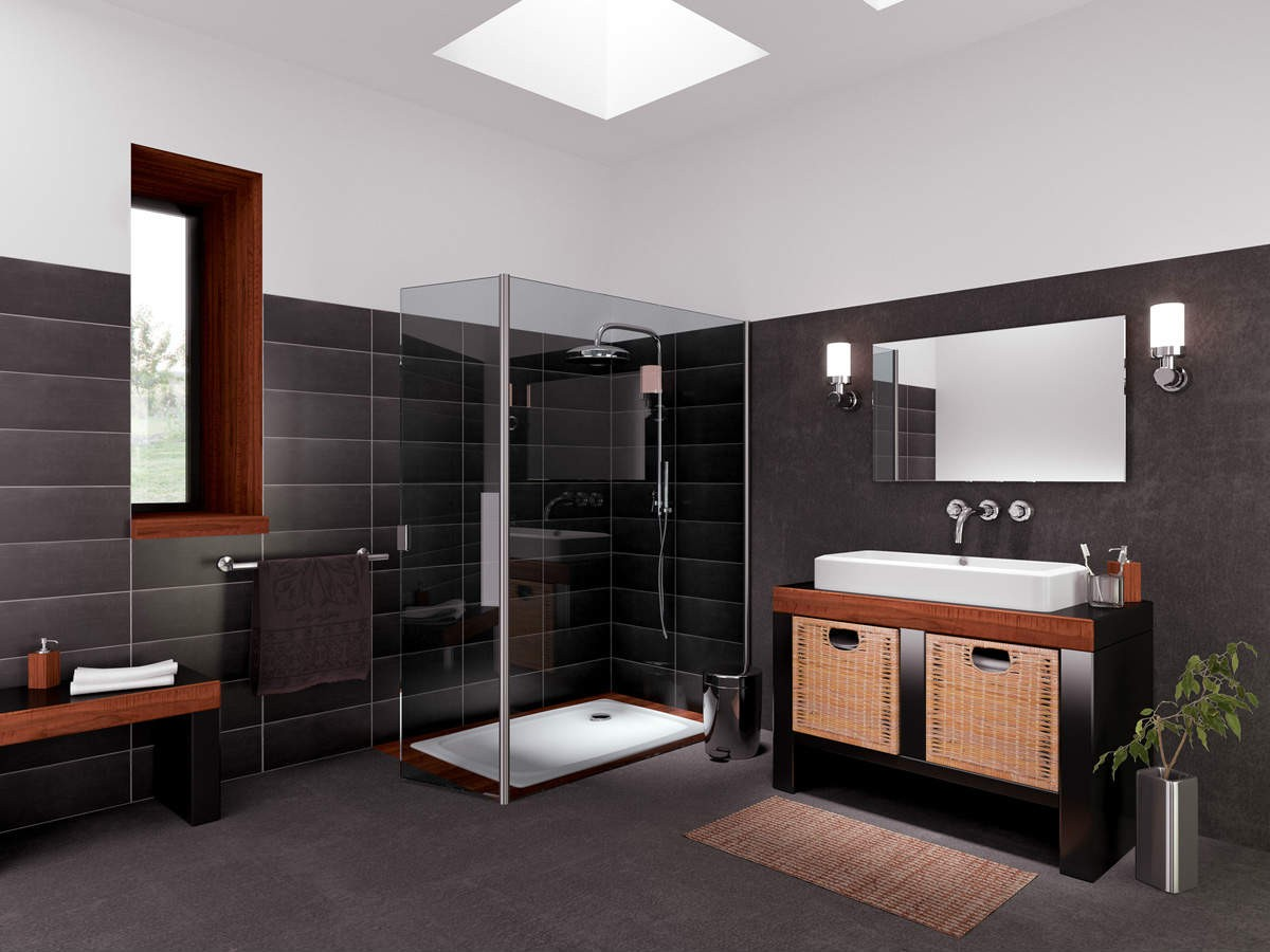 renover carrelage sol salle de bain salle de bain. Black Bedroom Furniture Sets. Home Design Ideas