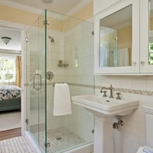Mod le de salle de bain avec douche l 39 italienne salle for Modele de salle de bain avec douche a l italienne