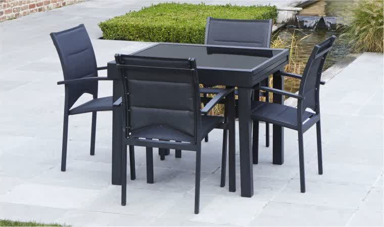 table et chaise de jardin en resine pas cher chaise. Black Bedroom Furniture Sets. Home Design Ideas
