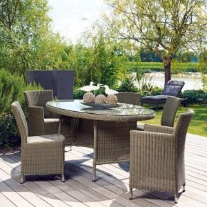 Table et chaise de jardin en resine blanc chaise id es de d coration de m - Chaise jardin resine ...