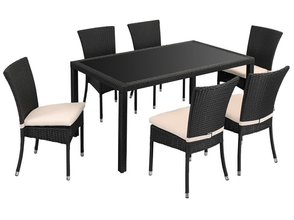 Table Et Chaise De Jardin En Resine