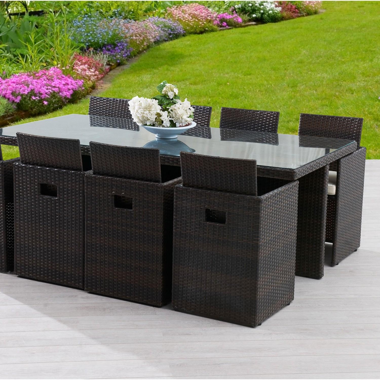 Table Et Fauteuil De Jardin En Resine