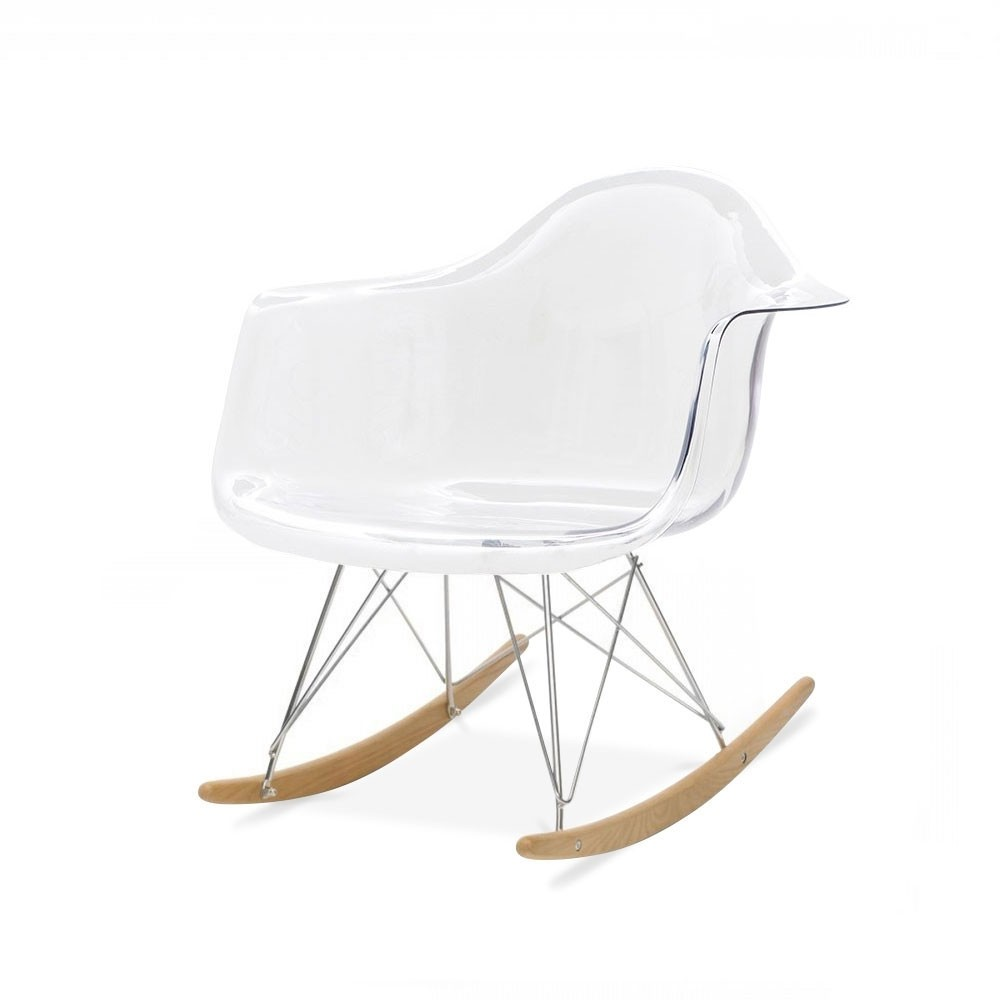 stunning awesome chaise a bascule rar blanche eames with chaise eames rar with chaise eames blanche. Black Bedroom Furniture Sets. Home Design Ideas