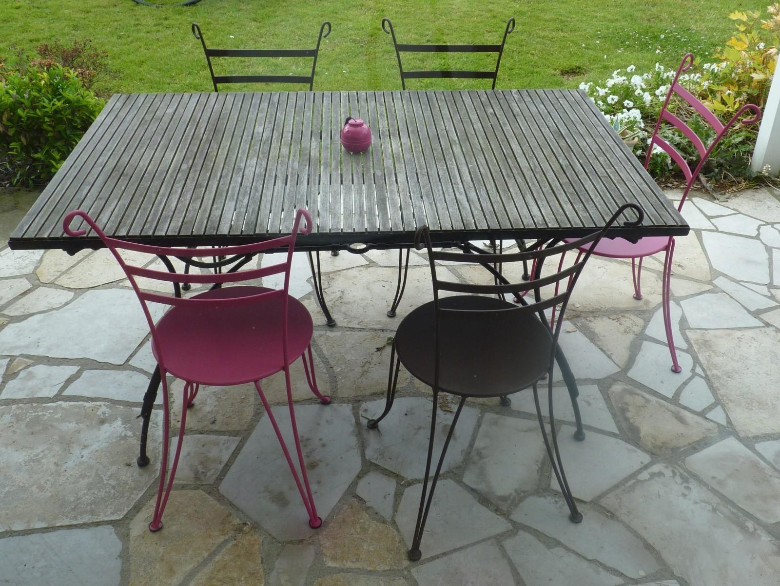 chaise de jardin fermob soldes chaise id es de. Black Bedroom Furniture Sets. Home Design Ideas