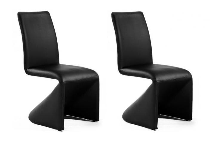 Chaise Design Noir Solde