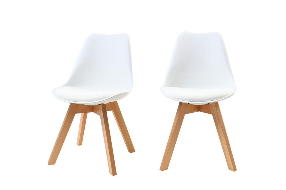 Chaise Design Pas Cher Blanche