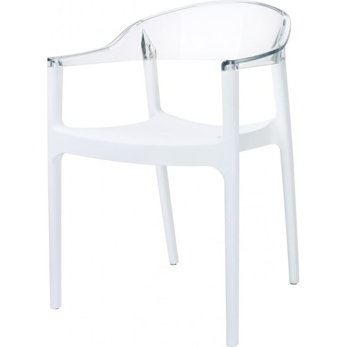 Chaise medaillon polycarbonate pas cher chaise id es for Chaise transparente pas cher ikea