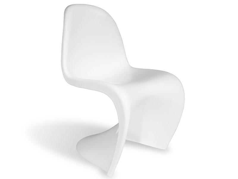 Chaise Panton Blanc Mat