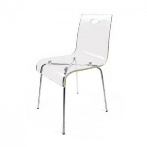Chaise plexi transparente leroy merlin chaise id es de for Chaise transparente ikea