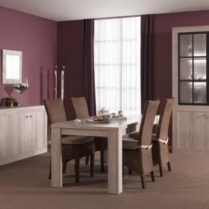 Canap cuir et bois massif canap id es de d coration for Chaise en bois salle a manger