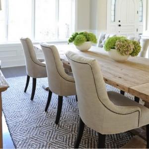 Chaises salle a manger moderne chaise salle manger for Deco cuisine avec chaise en cuir beige salle manger