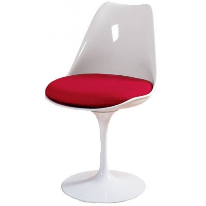 Chaise Tulipe Blanche Fly