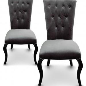 chaise capitonn e en velours chaise id es de d coration de maison gyne0jvbvm. Black Bedroom Furniture Sets. Home Design Ideas