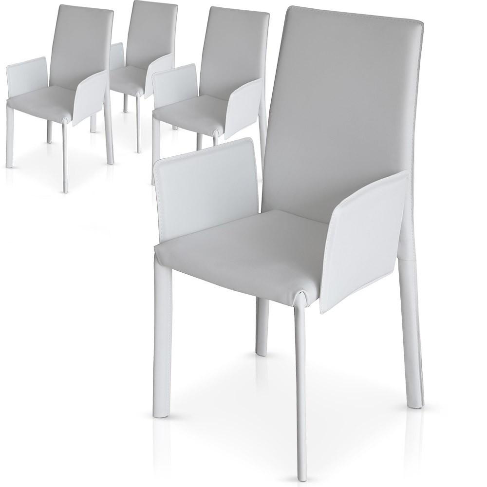 Chaises Cuir Design Pas Cher