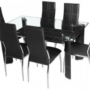 Ensemble table de salle a manger et chaises chaise - Ensemble table et 6 chaises ...