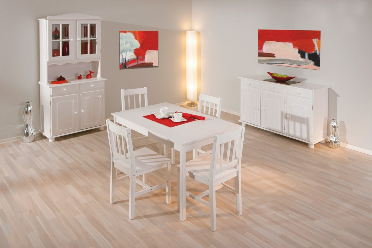 Ensemble table et chaise de cuisine blanc chaise id es for Ensemble table et chaise noir et blanc