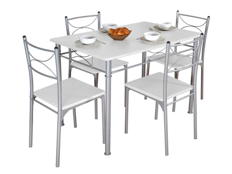 Ensemble table ronde et chaise salle a manger chaise for Ensemble table et 6 chaise salle a manger