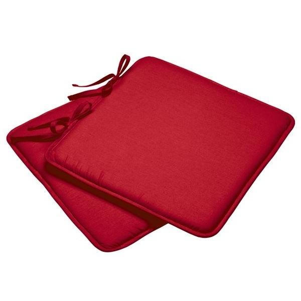Galettes De Chaises Rouges Pas Cher