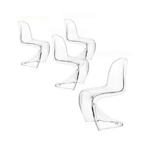 chaise panton blanc mat chaise id es de d coration de maison dolvvg0l8m. Black Bedroom Furniture Sets. Home Design Ideas