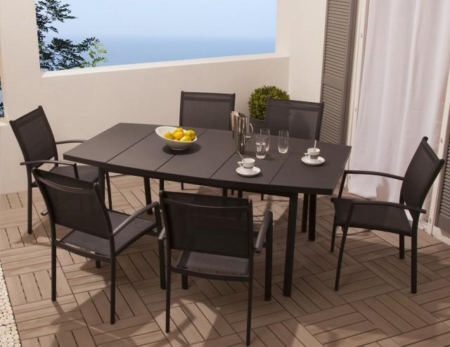 Soldes Ensemble Table Et Chaises De Jardin