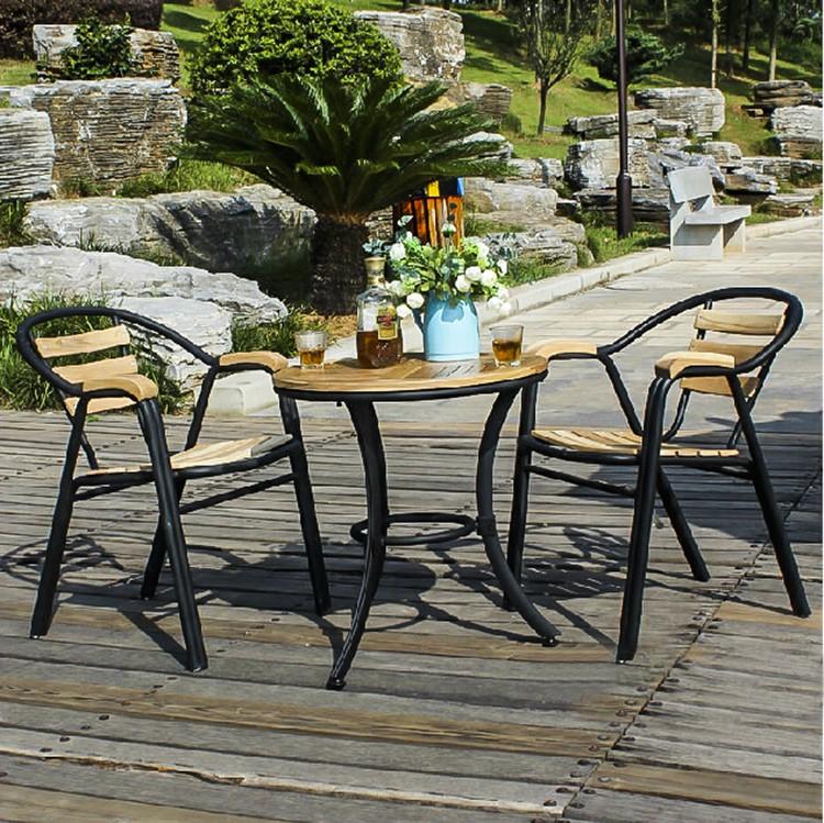 Table Et Chaise De Bar Exterieur