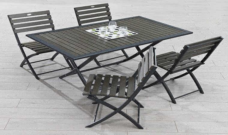 Table Et Chaise Pliante Exterieur