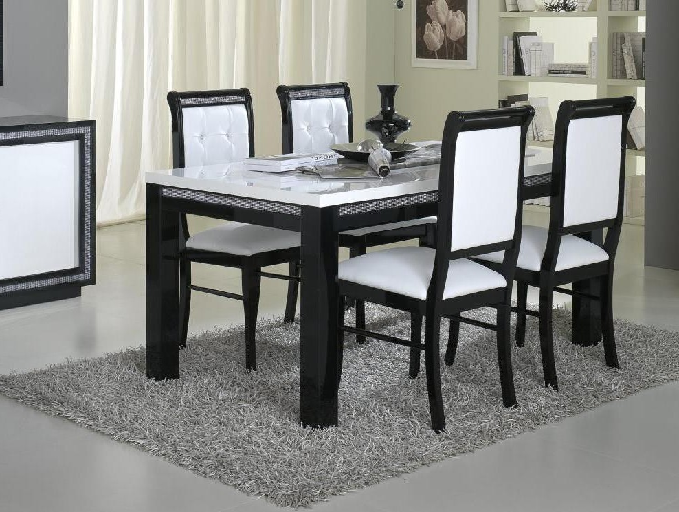 table et chaise salle a manger moderne chaise id es de. Black Bedroom Furniture Sets. Home Design Ideas