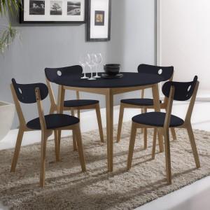 Table et chaise en fer forg et bois chaise id es de for Chaise fer forge et bois