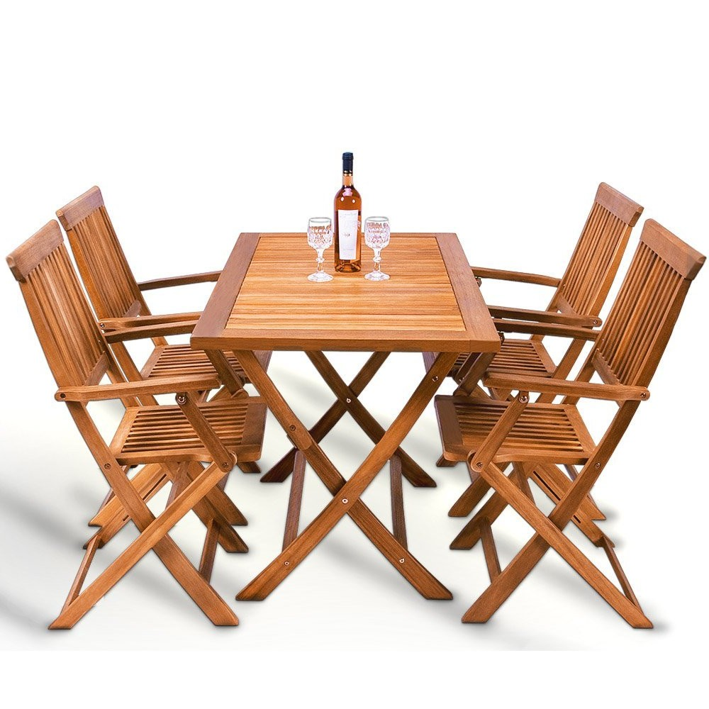 Table pliante avec 4 chaises integrees chaise id es de - Table cuisine avec chaise ...