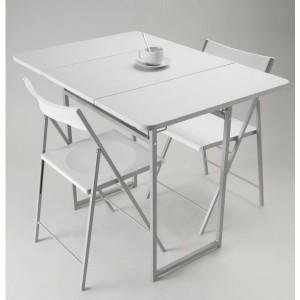 table pliante avec 4 chaises integrees chaise id 233 es de d 233 coration de maison bm4bmjmnjw