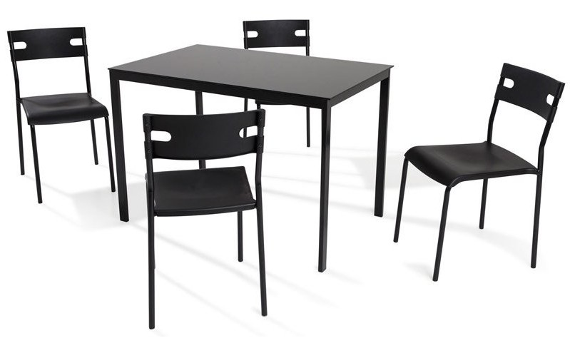 table plus chaise de cuisine pas cher chaise id es de. Black Bedroom Furniture Sets. Home Design Ideas