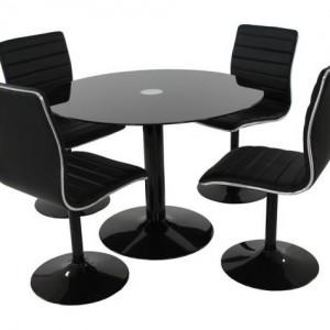 Table Ronde Et Chaises De Cuisine Pas Cher