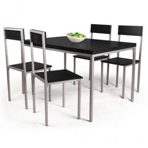 table et chaises de cuisine pas cher chaise id es de. Black Bedroom Furniture Sets. Home Design Ideas