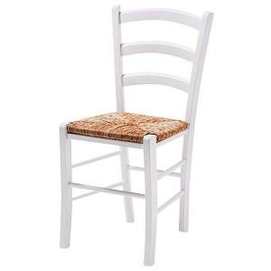 Chaise moderne blanc et bois chaise id es de - Chaise bois pas cher ...