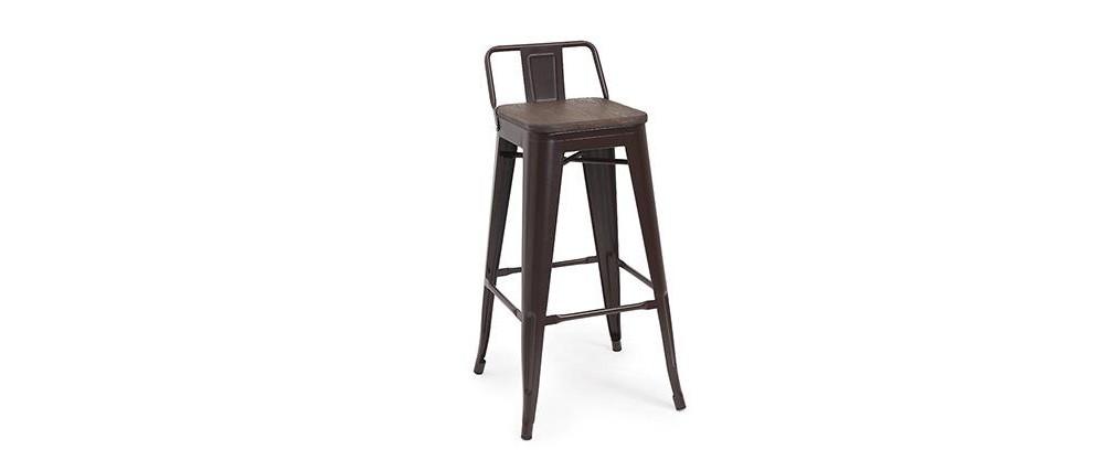 Chaise De Bar Industrielle Pas Cher