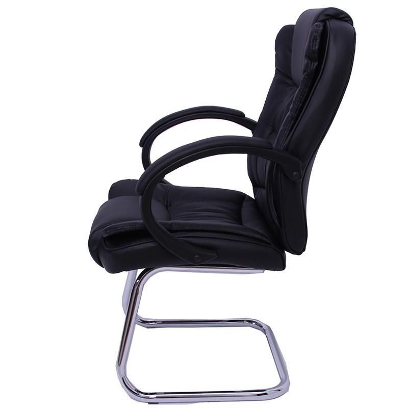 Chaise De Bureau Avec Accoudoirs Sans Roulettes