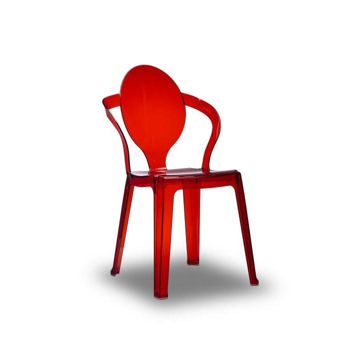 Chaise Design Pas Cher Rouge
