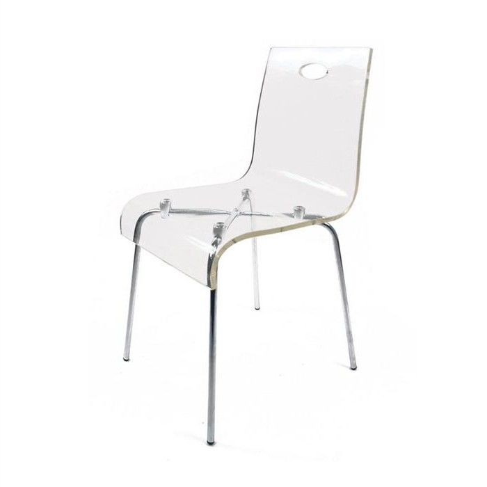 Chaise design pas cher transparente chaise id es de for Conforama chaise transparente