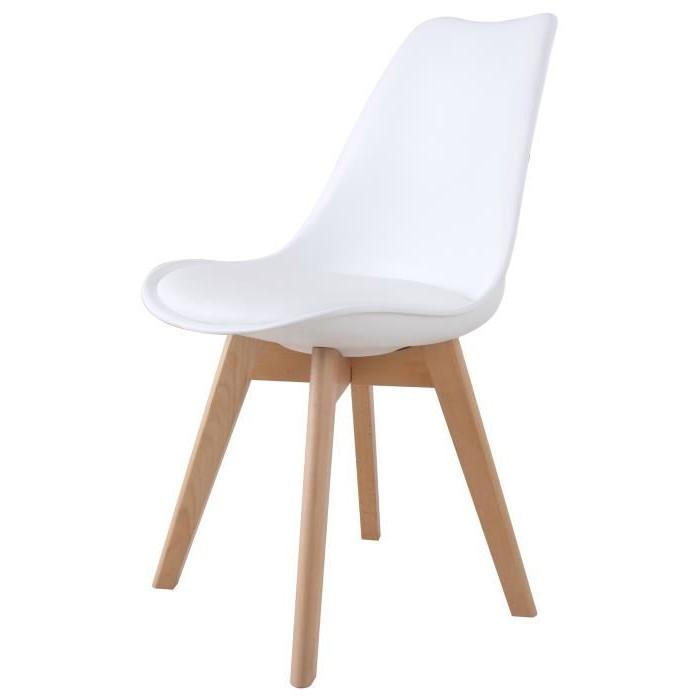 Chaise Design Plastique Et Bois