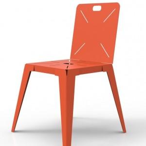 Chaise velour capitonn chaise id es de d coration de for Chaise tole