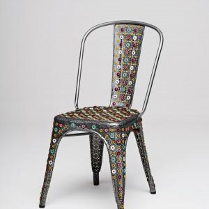 Chaise d 39 ecole occasion chaise id es de d coration de for Chaise tole