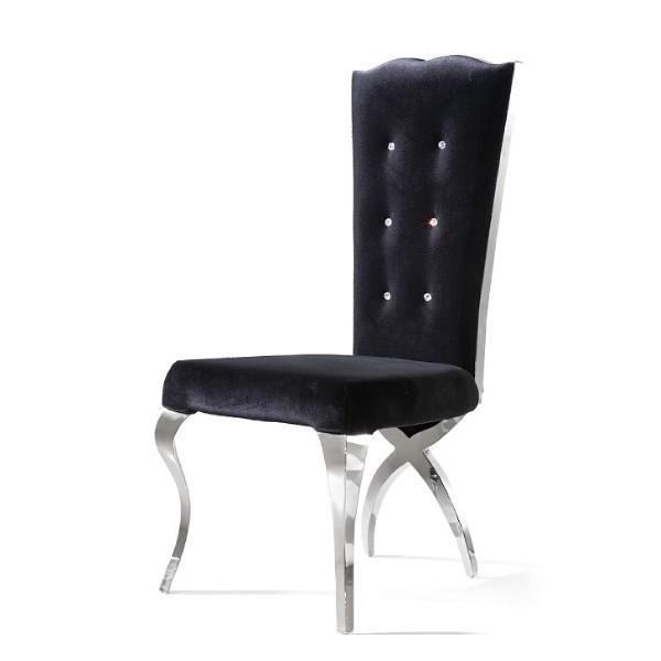Chaise En Velours Pas Cher