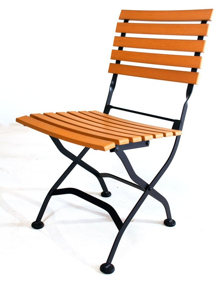 Chaise bistrot exterieur awesome chaise bois duorme for Chaise exterieur