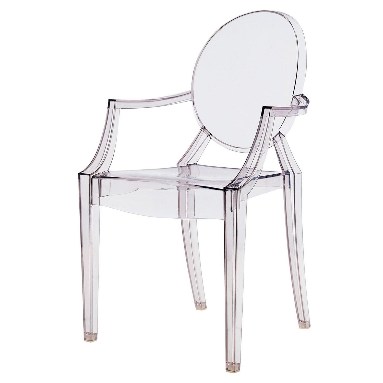 Chaise Imitation Starck Transparente