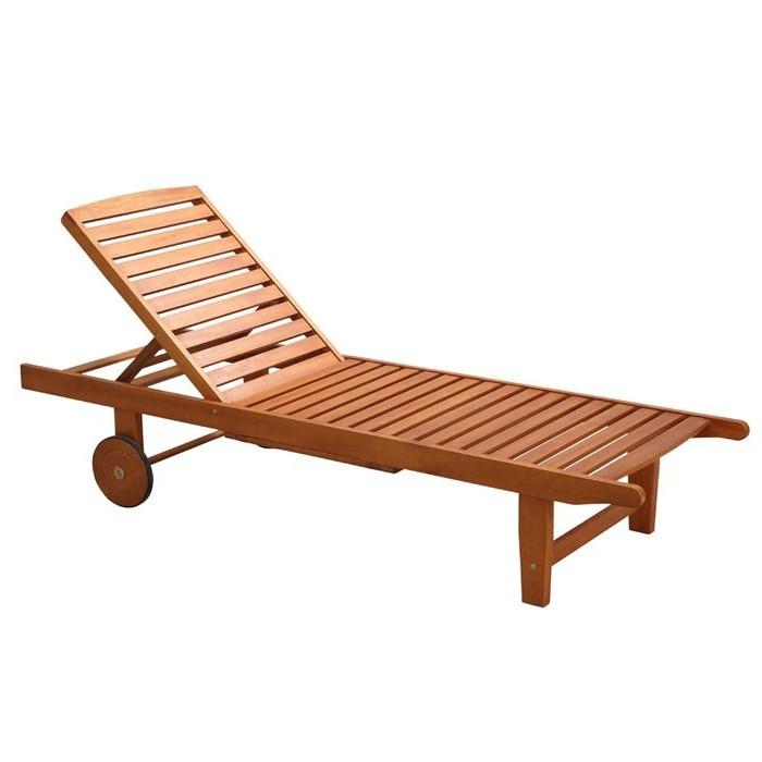 Chaise longue bois exotique chaise id es de d coration for Chaise longue jardin bois exotique