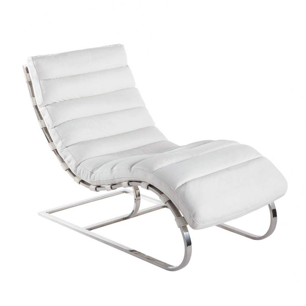 Chaise longue freud maison du monde chaise id es de for Maison du monde chaise longue