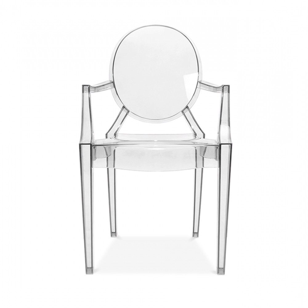 Chaise Louis Ghost Philippe Starck