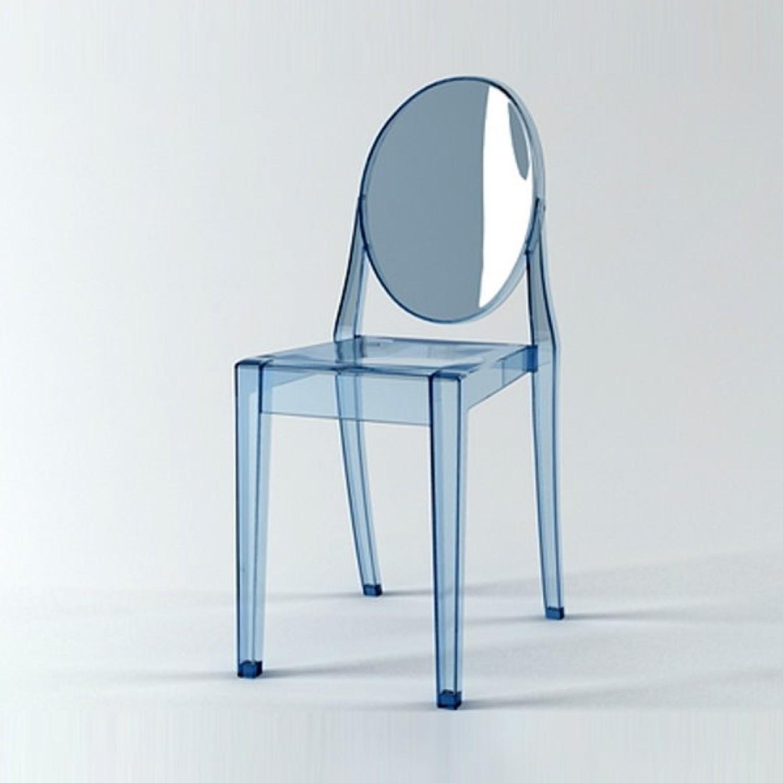 Chaise Philippe Starck Transparente