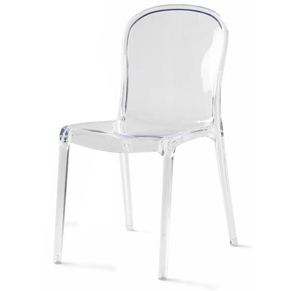 Chaise Polycarbonate Transparente Pas Cher